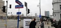 "Warszawa. Happening MJN. ""Trasa"" zamiast ""Alej"""