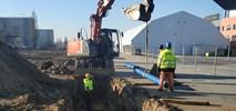 Szczecin: Tramwaj na Szafera. Pogoda sprzyja budowlańcom