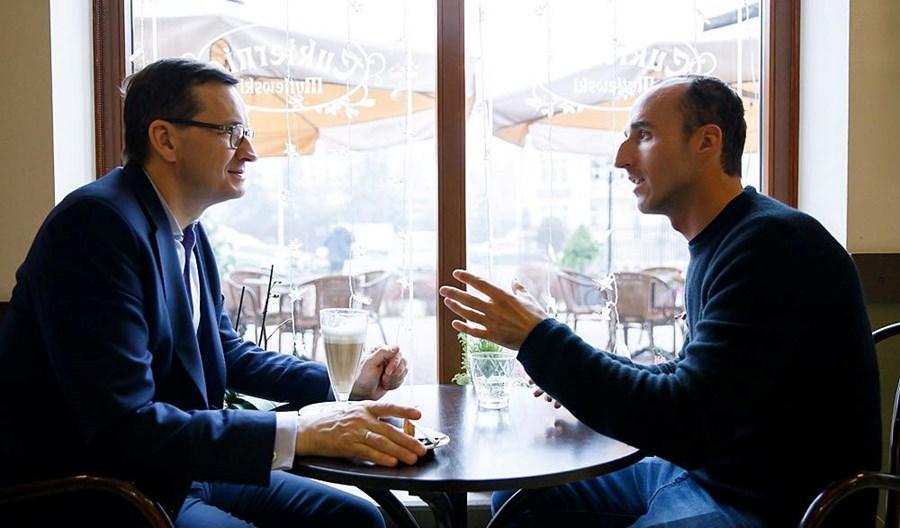Robert Kubica będzie promował BRD z rządem