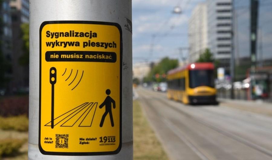 Warszawa wyłącza przyciski dla pieszych