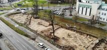 Tramwaj na Naramowice: Archeolodzy przebadali park, rusza kolejna rozbiórka