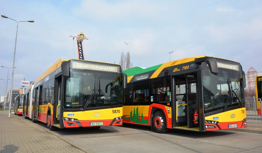 MZA Warszawa: W najbliższych latach spokój z zakupem autobusów. Wodór na razie ciekawostką