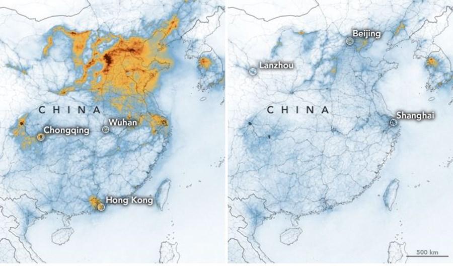 Chiński wirus pokazał związek smogu z samochodami