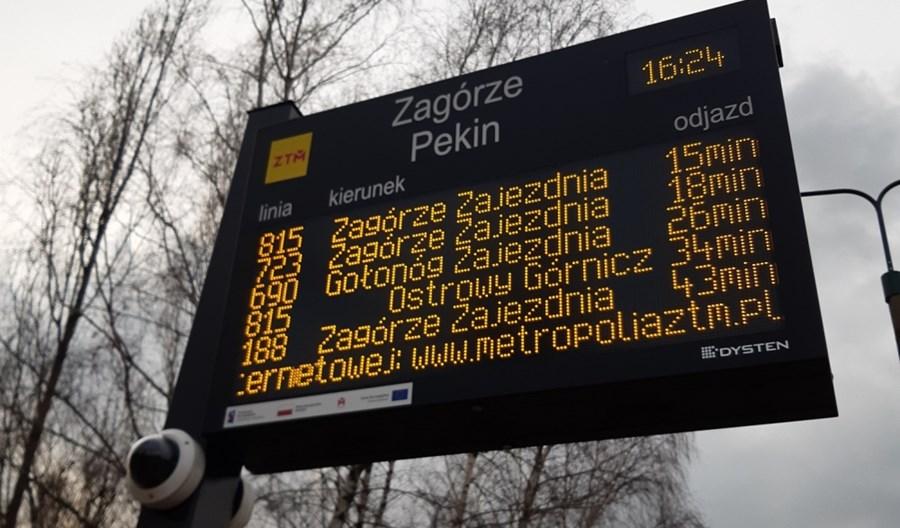 GZM: Ruszył montaż kolejnych tablic SDIP. Tym razem większość trafi do Zagłębia