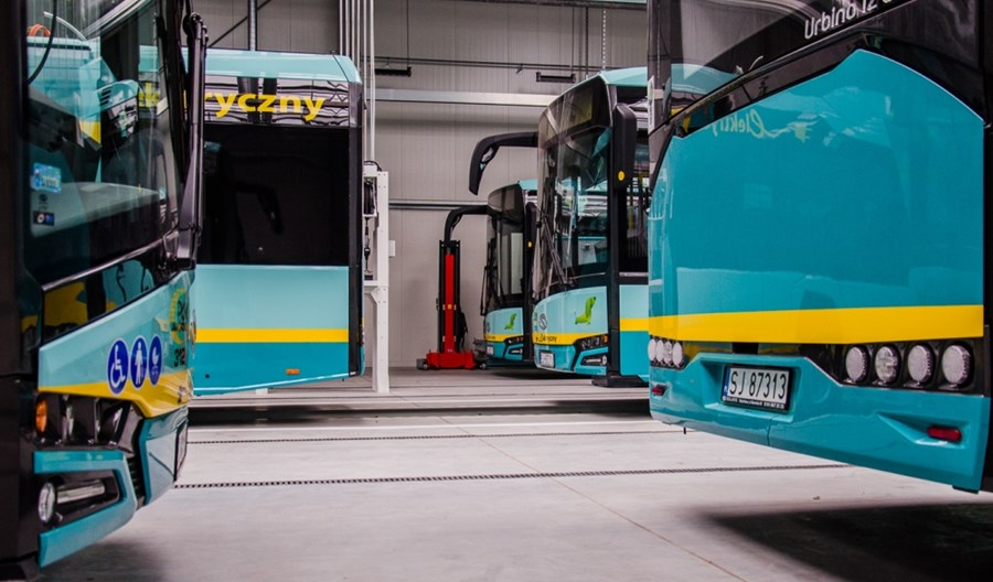 Jaworzno z kolejnymi elektrobusami Solarisa. 80% floty bezemisyjna