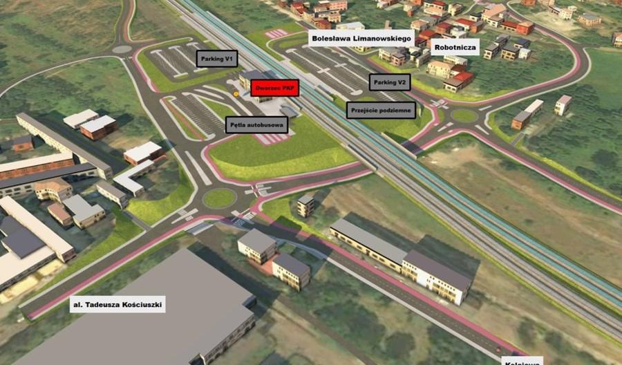 Dąbrowa Górnicza wybrała wykonawcę przebudowy stacji i węzła