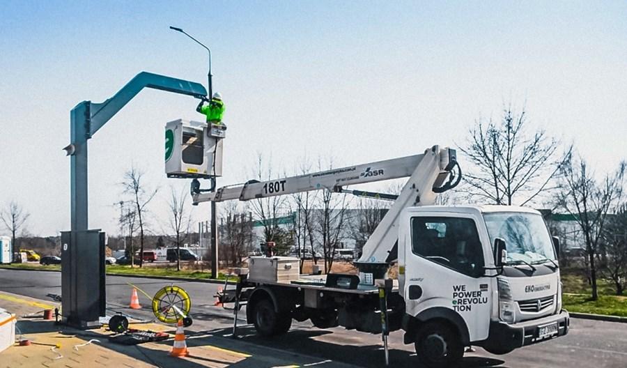 Ekoenergetyka buduje infrastrukturę dla ładowania elektrobusów w Radomiu