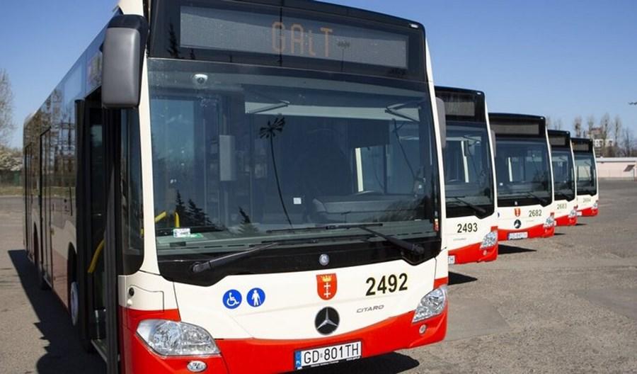 30 nowych Mercedesów Citaro na ulicach Gdańska