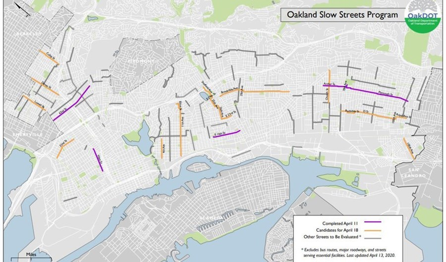 Oakland najodważniej zniechęca kierowców