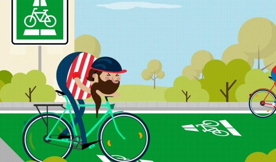 Niemcy: Kary za wyprzedzanie cyklistów na wąskich drogach i parkowanie na pasach dla rowerzystów