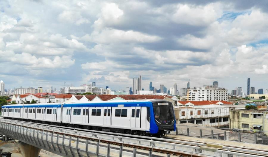 """Przedłużona """"Niebieska linia"""" w Bangkoku oficjalnie otwarta – projekt Siemens Mobility"""