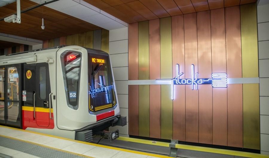 Metro: 100-tysięczny pasażer na nowych stacjach na Woli