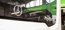 Hybrydowy Mercedes na testach w Poznaniu