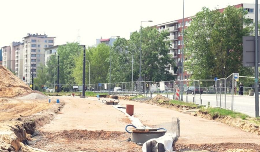 Warszawa: Budowa tramwaju na Winnicę zgodnie z planem