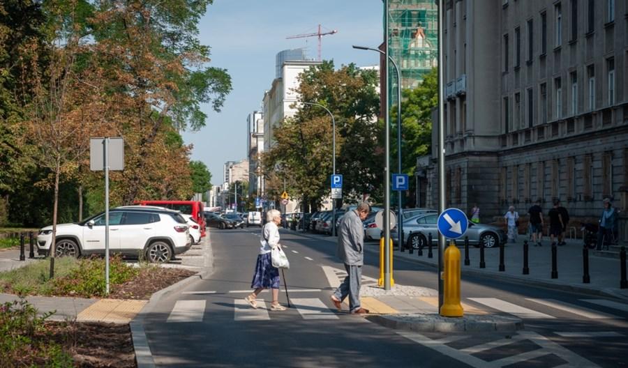 Warszawa: Seniorzy bezpieczniejsi na drogach