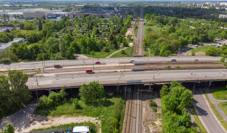 Łódź wybrała wykonawcę remontu wiaduktu i torowiska na Przybyszewskiego