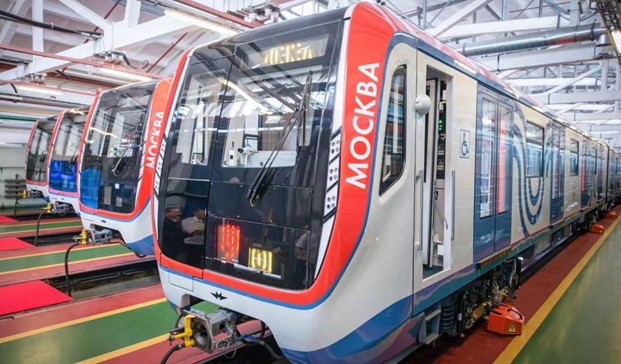 Metro Moskiewskie kupuje 1360 wagonów