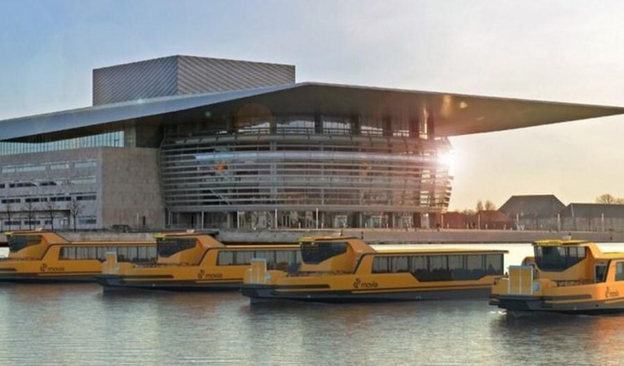 Elektryczny tramwaj wodny połączył dwie dzielnice Kopenhagi