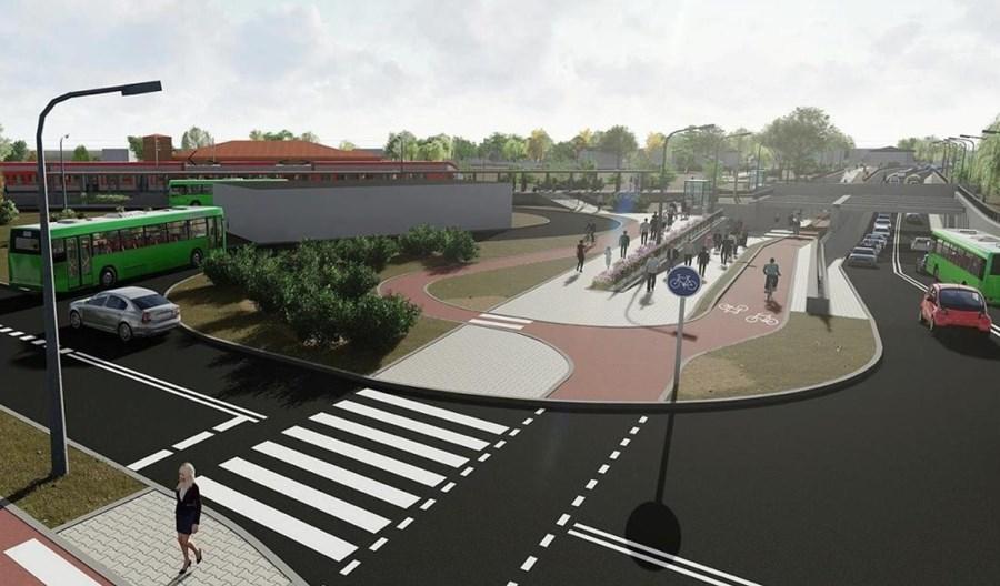 Poznań: Pięć ofert na węzeł Junikowo z przejazdem pod torami i rezerwą dla tramwaju
