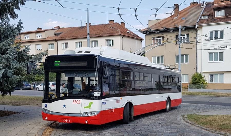 Brno wydłuży sieć trolejbusową. Ale nie dla pasażerów