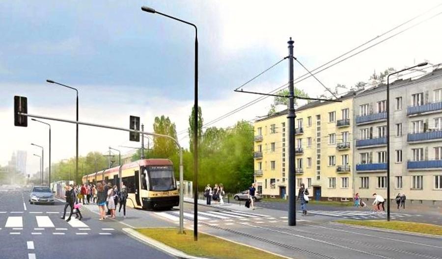 Warszawa: Tramwaj na Kasprzaka bez rozjazdów dla tramwaju do Wilanowa