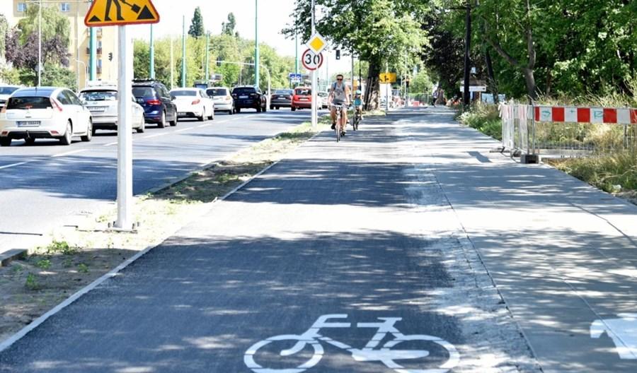 Poznań. Powstaję nowa trasa rowerowa na Grundwaldzie