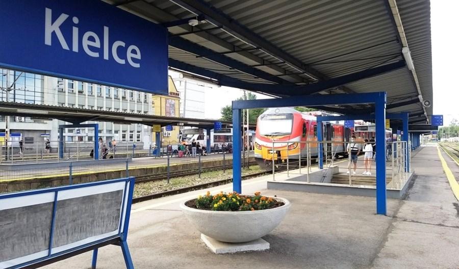 Porozumienie ws. stacji w Kielcach. Nad peronami powstanie parking