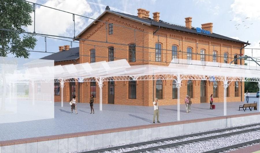 Cztery oferty na remont dworca w Rzepinie