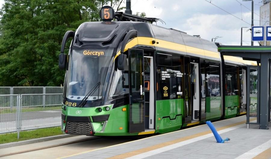 1 września w Poznaniu ruszy nowa trasa tramwajowa