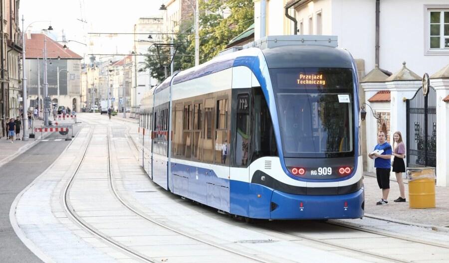 Kraków: We wrześniu rozpoczną się odbiory prac na ul. Krakowskiej