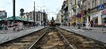 Poznań: Rozpoczęła się naprawa torowiska na ul. Dąbrowskiego