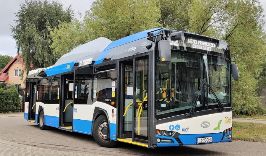 """Gdynia z """"supertrolejbusową"""" linią na północy miasta"""