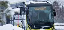 Autobusy elektryczne Volvo pojadą z Wrocławia za koło podbiegunowe