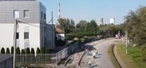 Kraków: Trwa budowa nowych chodników