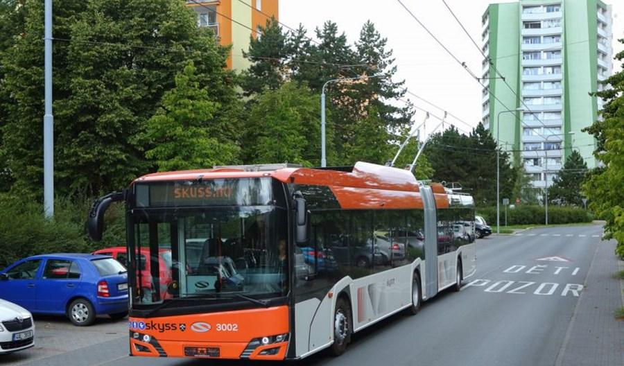 Pierwszy trolejbus Solarisa-Škody w Bergen