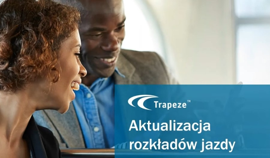 Trapeze Poland: Jak radzić sobie z częstą aktualizacją rozkładów jazdy? (FILM)