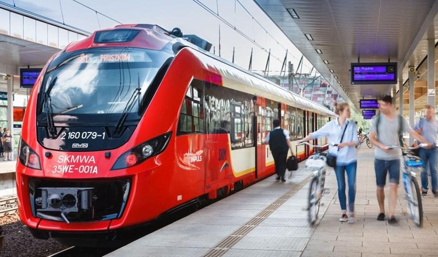 15 lat przewozów warszawskiej Szybkiej Kolei Miejskiej