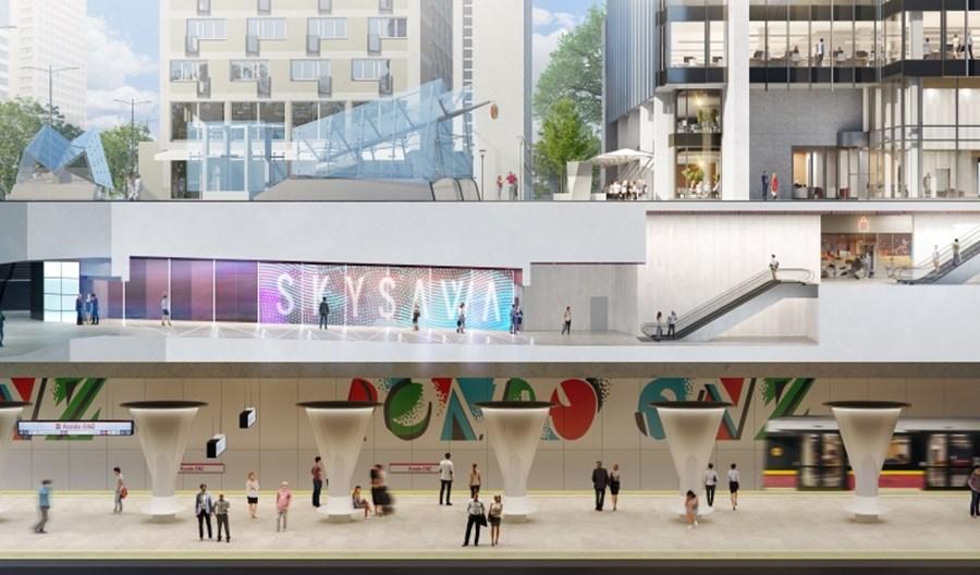 Warszawa: Kolejny budynek z bezpośrednim przejściem do metra