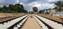 Poznań: Postępy na budowie tramwaju na Naramowice [film]