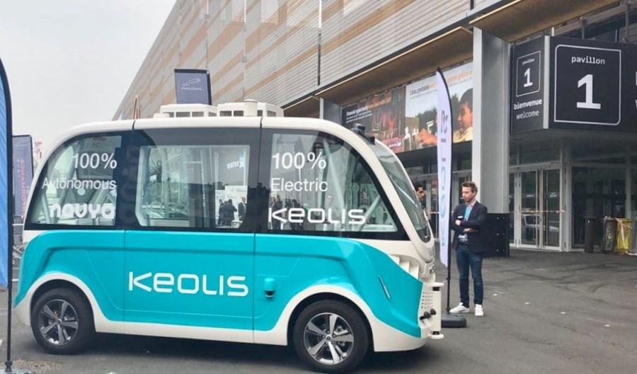 Francja. W Indre testują autonomiczne minibusy