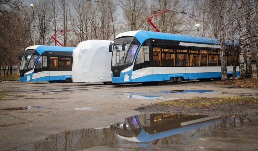 """Rosja: Firma PK TS dostarczy 16 nowych tramwajów """"Lwiątek"""" do Iżewska"""