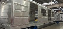 Metro sprawdza pierwsze pudła wagonów Skoda Varsovia