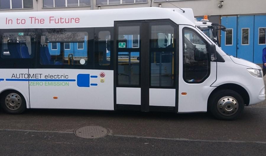 Kraków: Pasażerów tele-busa będzie woził autobus elektryczny