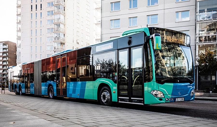 Czteroosiowe Mercedesy wkrótce wyjadą na ulice Göteborga