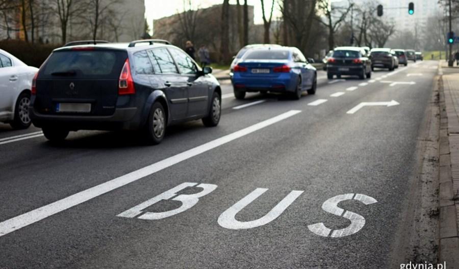 Gdynia przedłuża buspas na Małokackiej