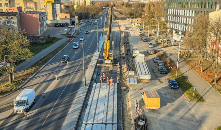 Łódź: Na Śmigłego-Rydza powstaje torowisko
