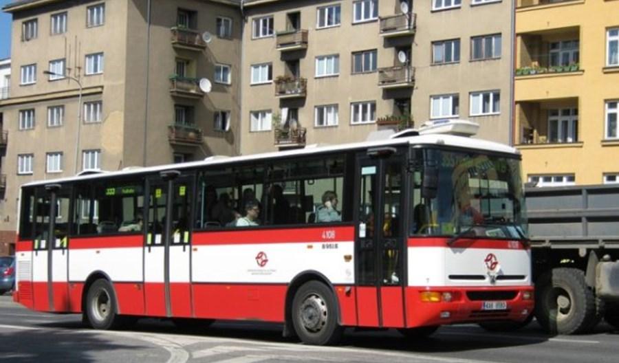 Praga pożegnała symbolicznie autobusy Karosa B 951