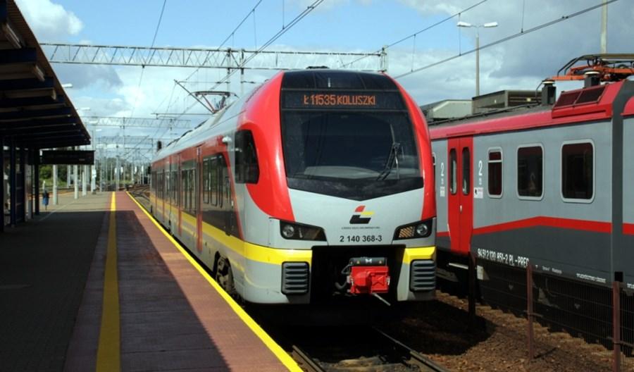 Łódź: Od niedzieli więcej kolei w mieście i aglomeracji