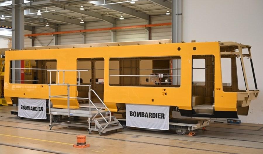 Pierwsze pudło tramwaju Bombardiera dla Drezna gotowe