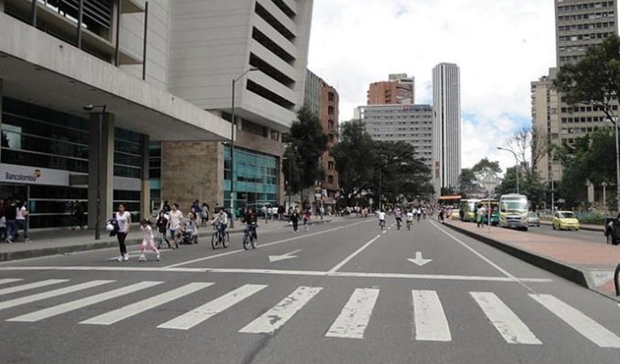 Bogota coraz bardziej stawia na rowery i walczy ze smogiem